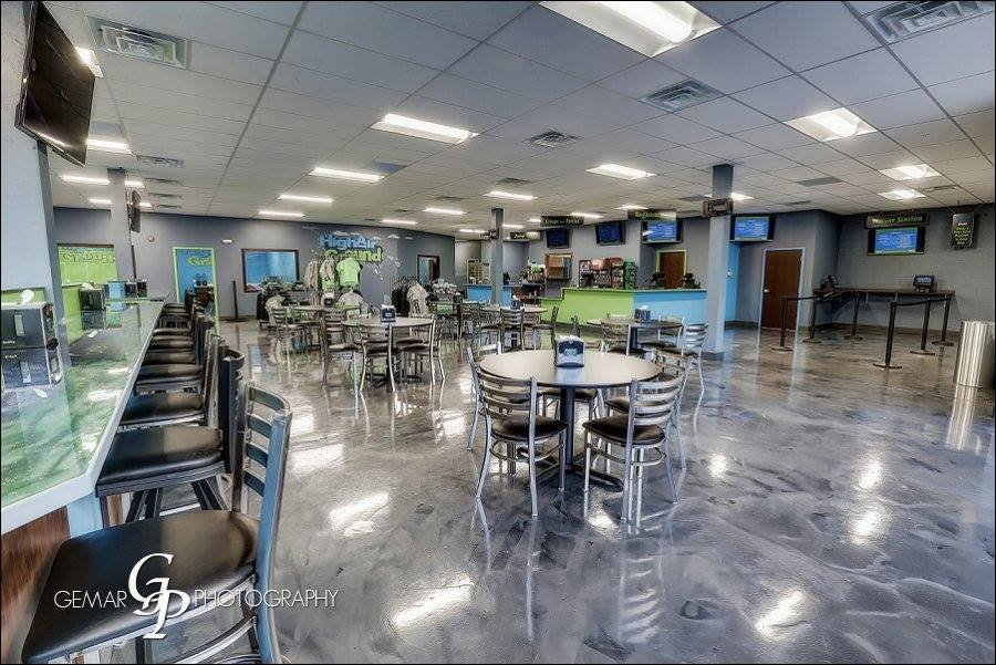 Social Spots from HighAir Ground Trampoline Park
