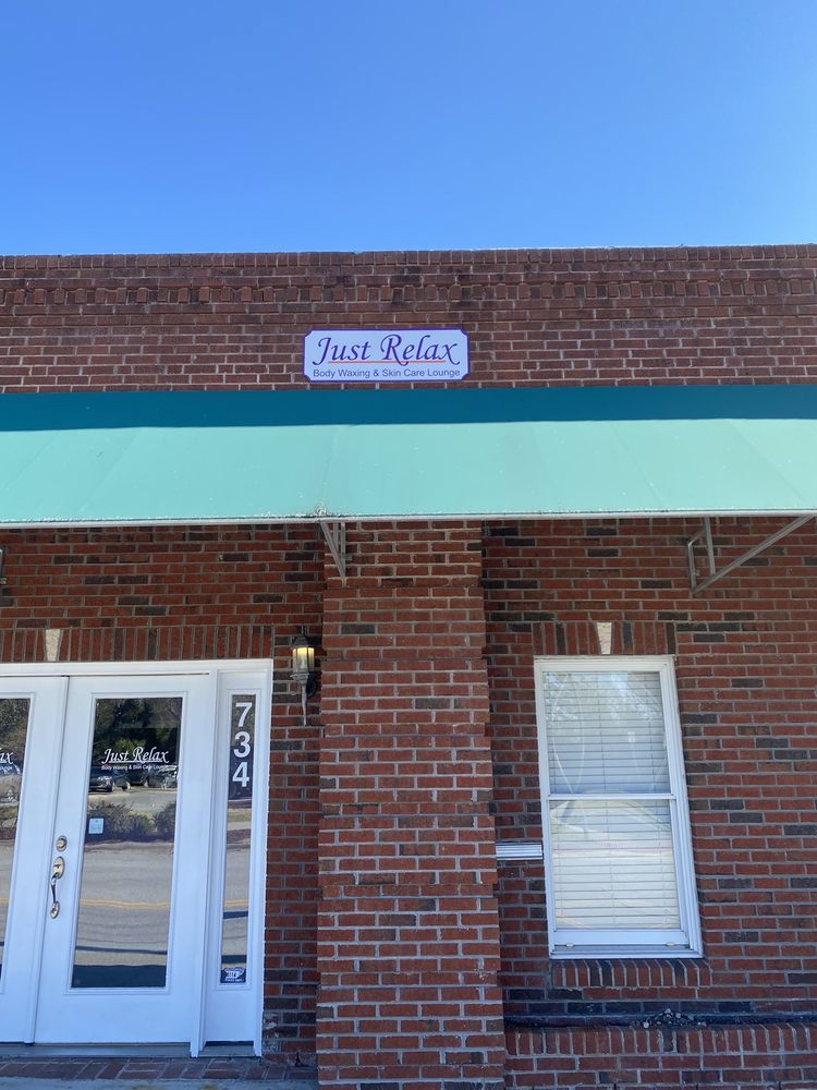 Just Relax Body Waxing & Skin Care Lounge: 734 Court St, Jacksonville, NC