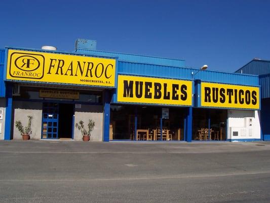 Franroc tiendas de muebles avenida alcalde cantos ropero 6 jerez de la frontera c diz - Telefono registro bienes muebles madrid ...