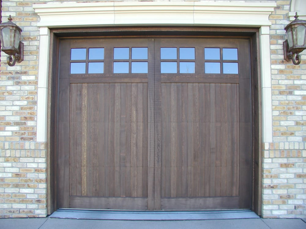 Arts And Crafts Style Wood Garage Door Denver Co Yelp