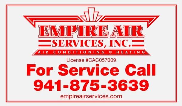 Empire Air Services: 1489 Market Cir, Port Charlotte, FL