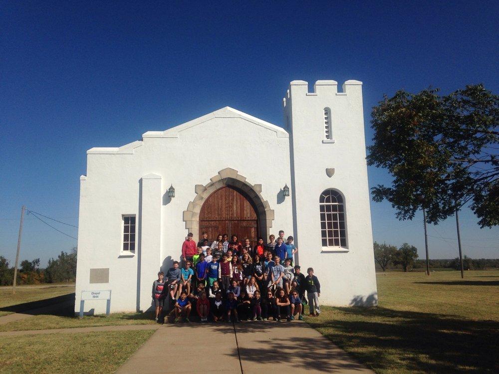 Historic Fort Reno Chapel: 7107 W Cheyenne St, El Reno, OK