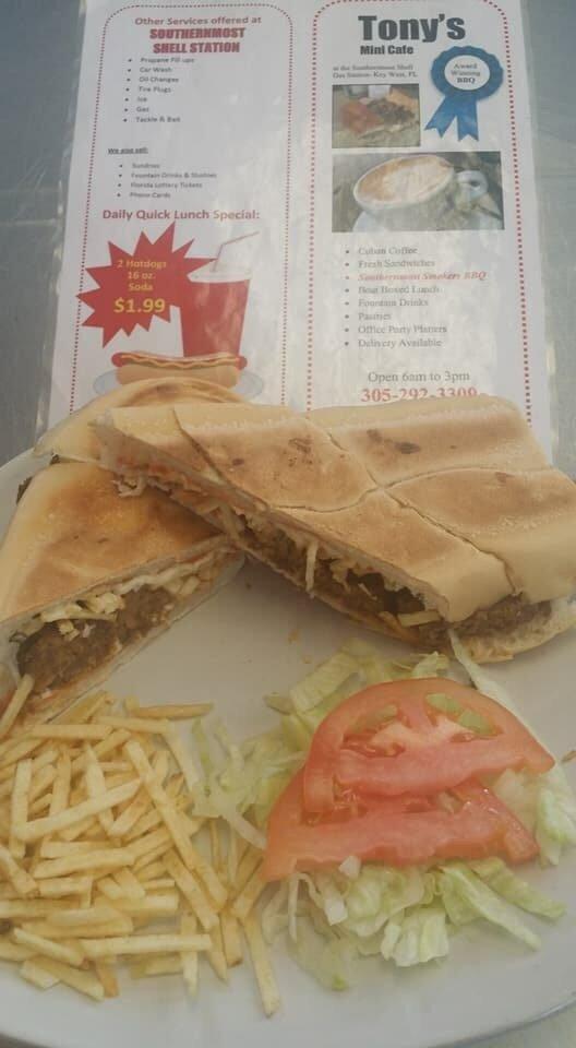Tony' Mini Cafe: 1900 N Roosevelt Blvd, Key West, FL
