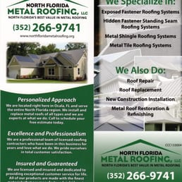 Photo Of North Florida Metal Roofing   Ocala, FL, United States. North  Florida