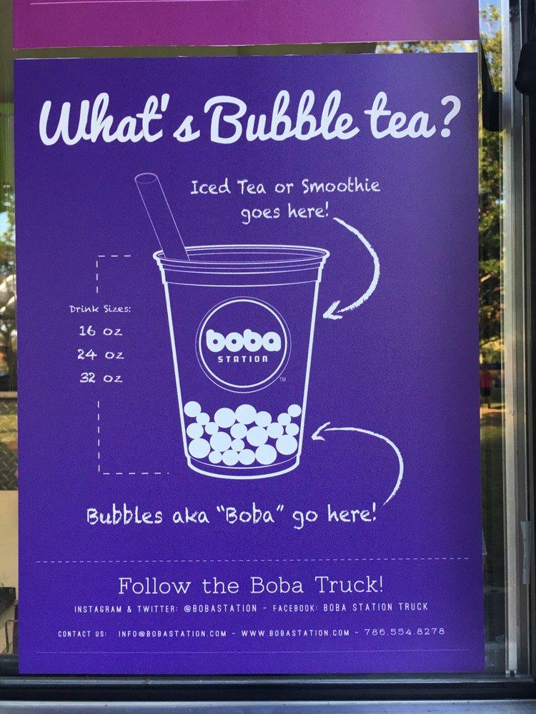 Boba Station Food Truck