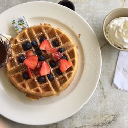 Photo Of Pearl Country Club Restaurant Aiea Hi United States Belgium Waffle