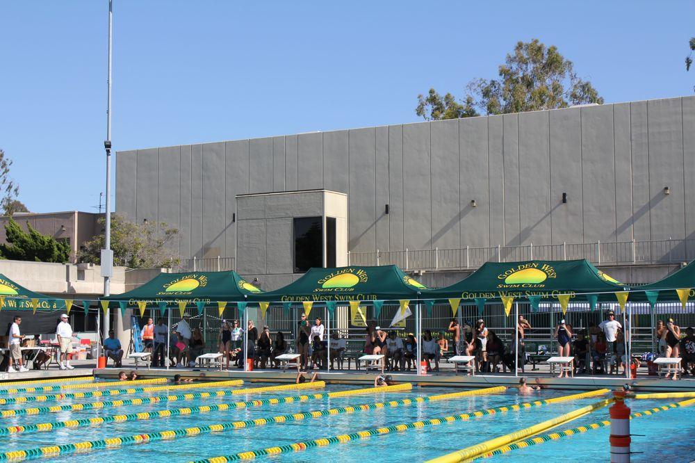 Golden West College Swim Team Tents Yelp