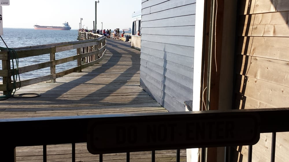 Looking from the toll booth to the fishing pier yelp for Lynnhaven inlet fishing report