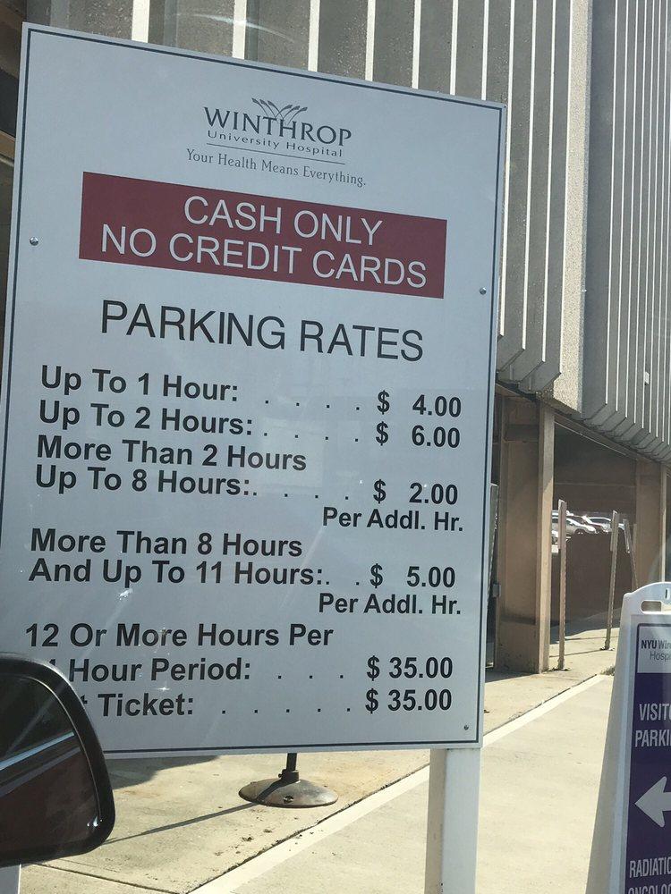 Parking rates - Yelp