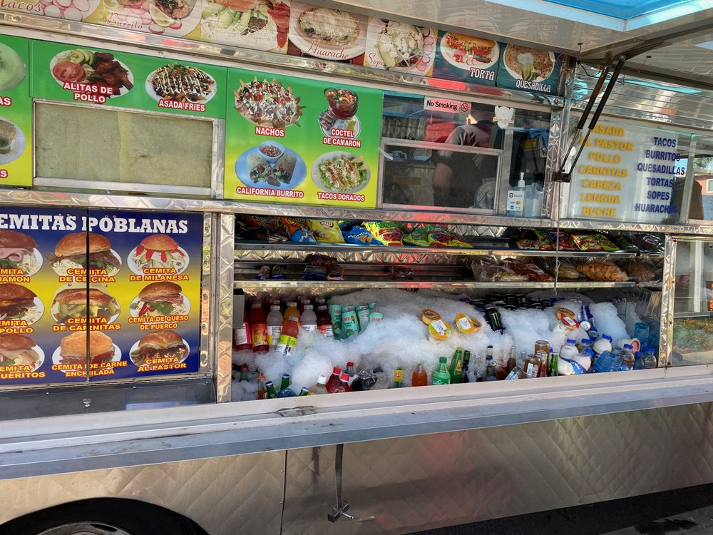 Paloma Celestial Food Truck: 2480 S Robertson Blvd, Los Angeles, CA