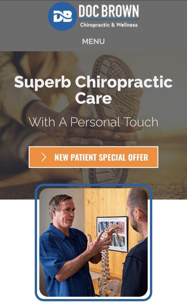 Doc Brown Chiropractic: 207 Paseo Del Pueblo Sur, Taos, NM