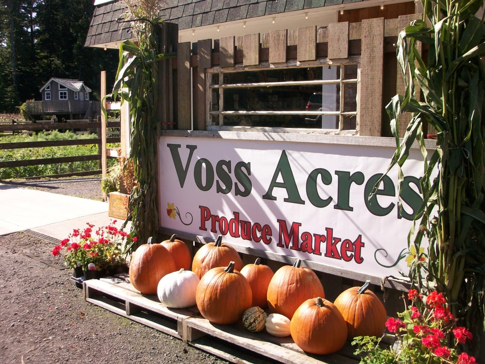 Voss Acres Produce Market: 1683 Ocean Beach Rd, Copalis Crossing, WA