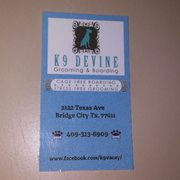 Photo Of K9 Devine Dog Grooming Boarding Bridge City Tx United States