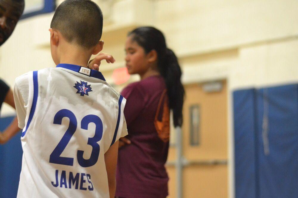 Team FOOTPRINTZ Basketball Training