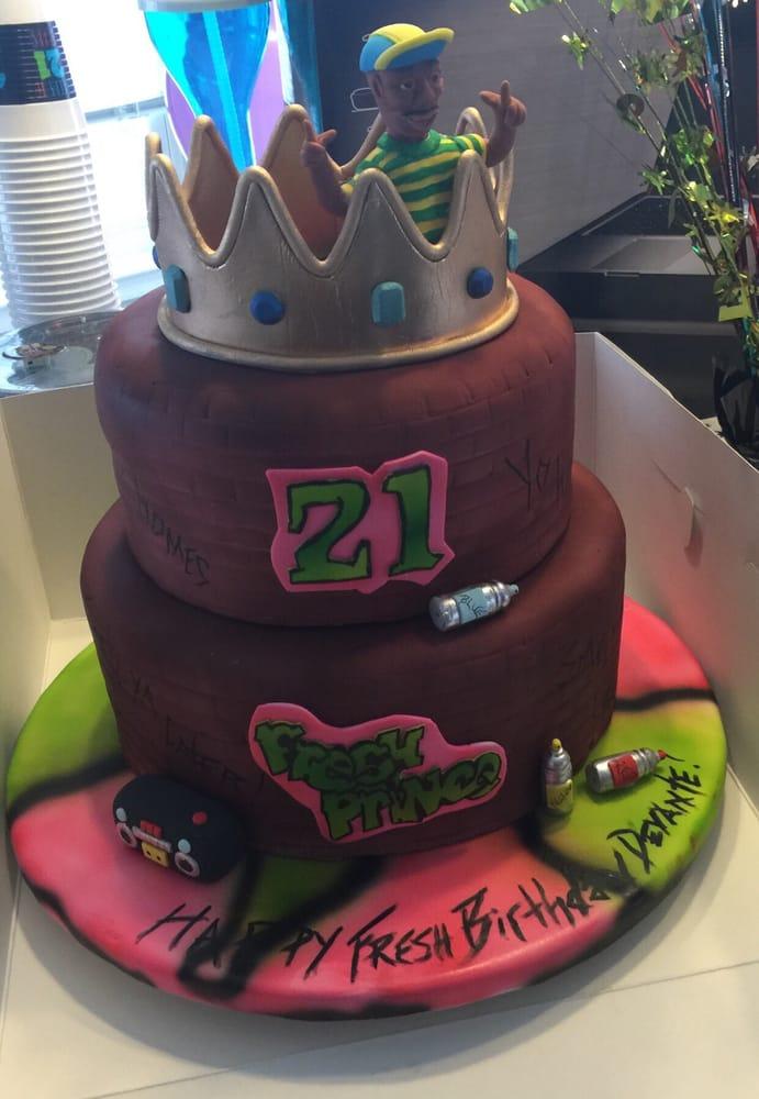 Fresh prince of Bel Air cake - Yelp
