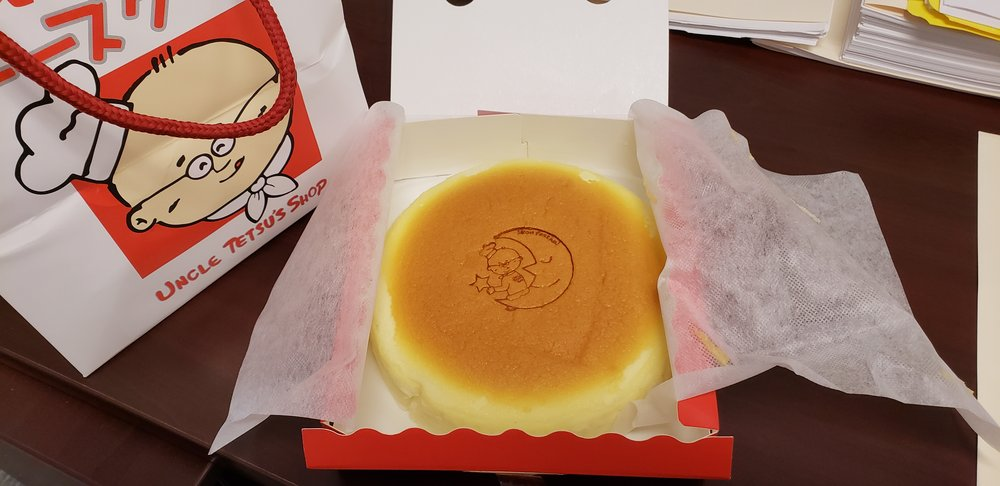 Uncle Tetsu's Japanese Cheesecake