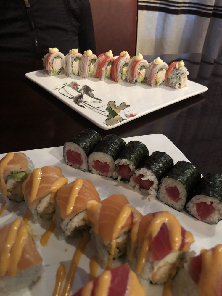 Food from Tokyo Japanese Restaurant