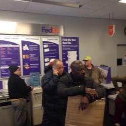 photo of fedex ship center jamaica ny united states happy people
