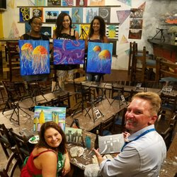 Studio cellar 38 fotos 12 beitr ge paint sip for Sip and paint charlotte nc