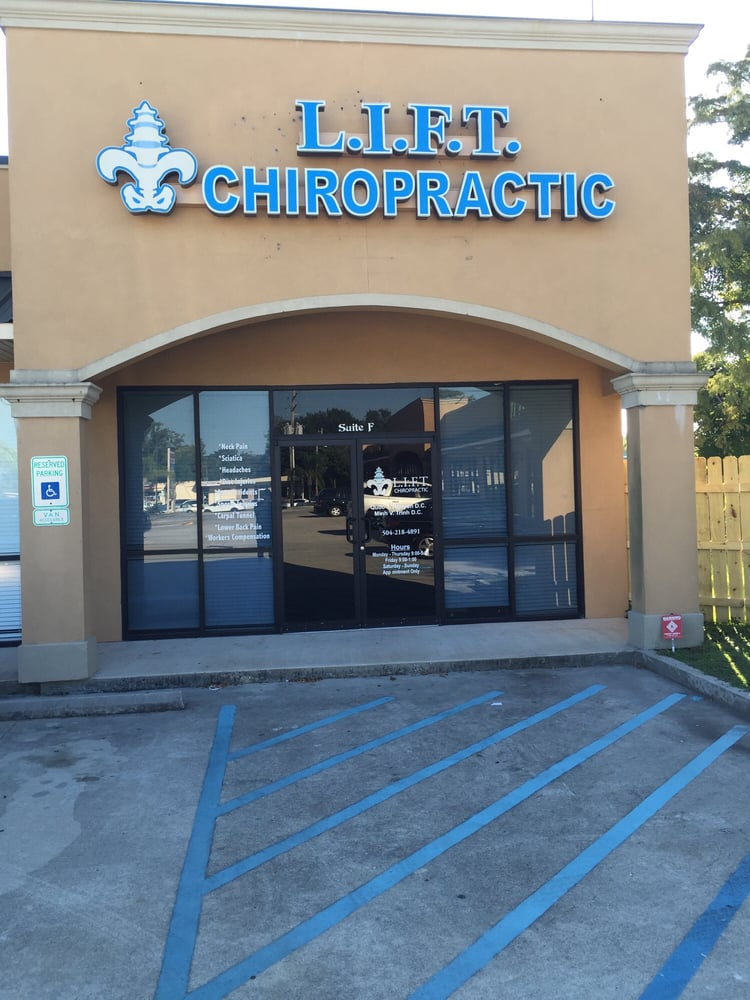Lift Chiropractic: 2201 Barataria Blvd, Marrero, LA