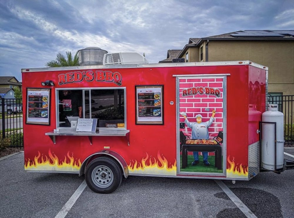 Red's BBQ Foodtruck: 8505 E Adamo Dr, Tampa, FL
