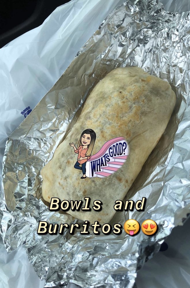 Food from Breakfast Bowls & Burritos