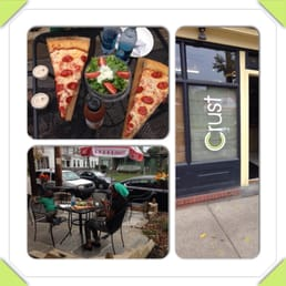 Crust - Cleveland, OH, United States. Very nice service good food!