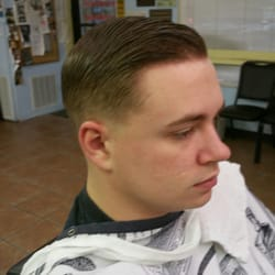 Another Perfect Military Haircut. Photo Of Kristiu0027s Barber Shop    Pensacola, FL, United States.