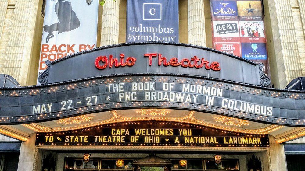 Ohio Theatre: 39 E State St, Columbus, OH