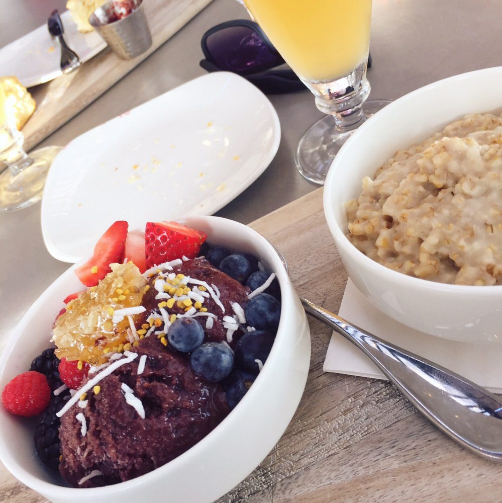 Acai Bowl Meal Comes With Oatmeal Yelp