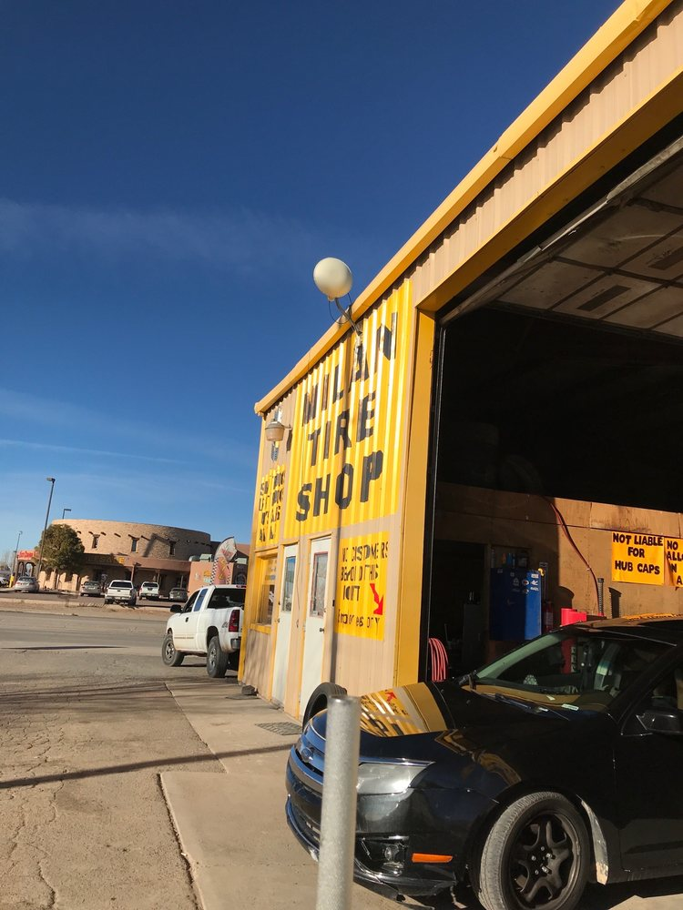 Milan Tire Shop: 105 Horizon Blvd, Milan, NM