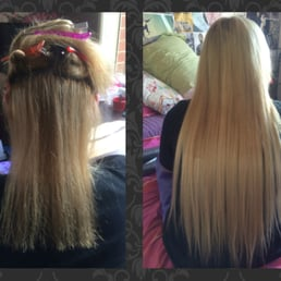 We are dolls hair extensions 16 photos melbourne victoria yelp photo of we are dolls melbourne victoria australia before and after full head before and after full head of tape extensions 22 inch pmusecretfo Image collections