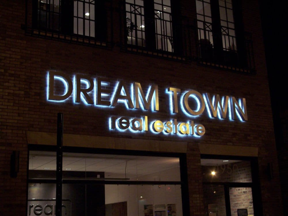 We Custom Fabricate Exterior Lighted Signs In Chicago And