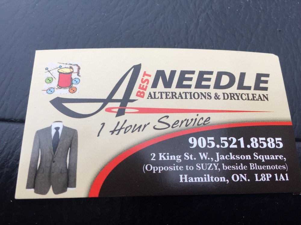 A Best Needle Alteration - Sewing & Alterations - 2 King Street W ...