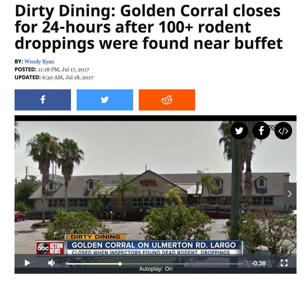 Golden Corral Buffet & Grill: 10050 Ulmerton Rd, Largo, FL