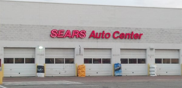 The list includes all types of Sears locations, including: Sears Full-Line, Sears Auto Centers, Service Centers & Repair Drop-off Locations, Sears Appliance Outlet Stores, Hometown Dealers, and Hardware Stores Sears is an American mid-range chain of department stores.