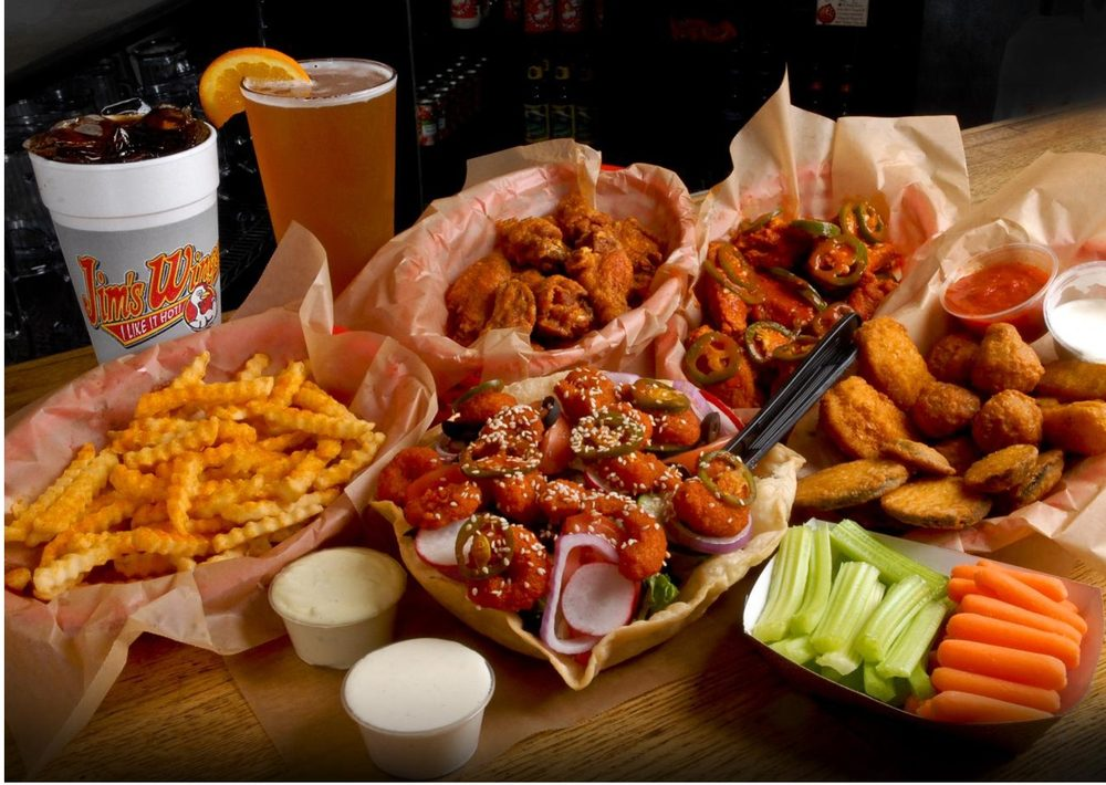 Food from Jim's Wings