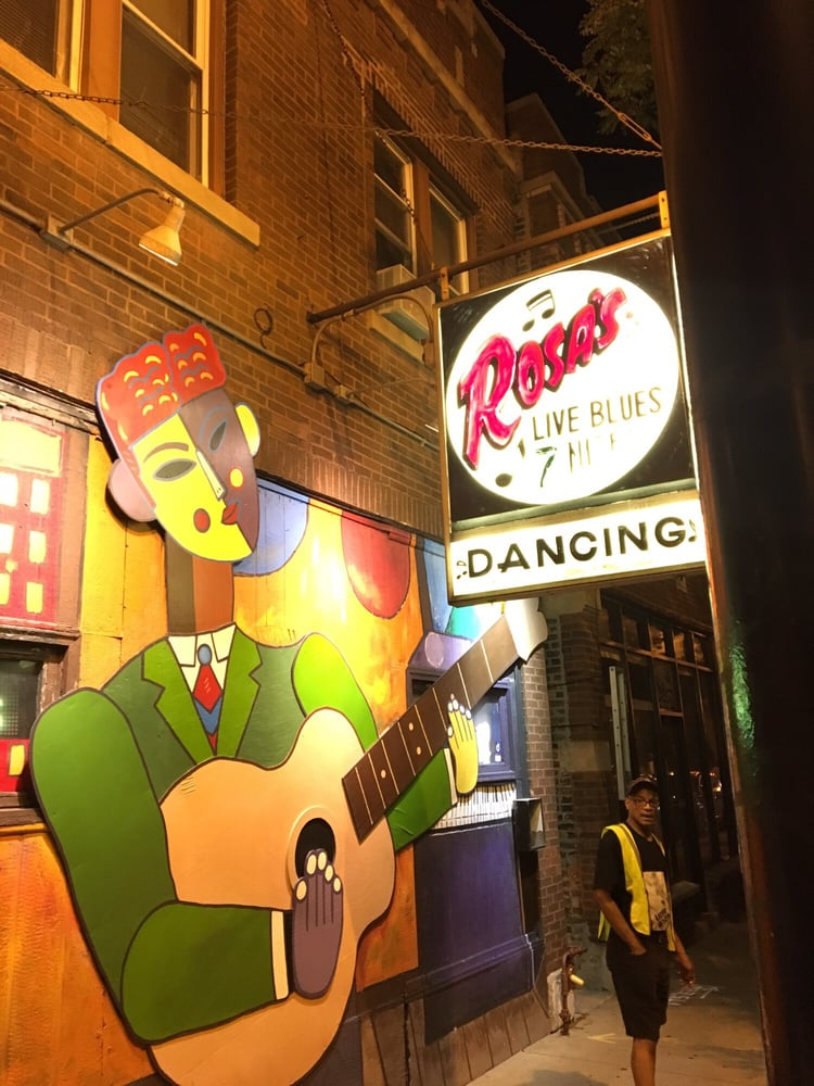 Rosa's Lounge: 3420 W Armitage Ave, Chicago, IL