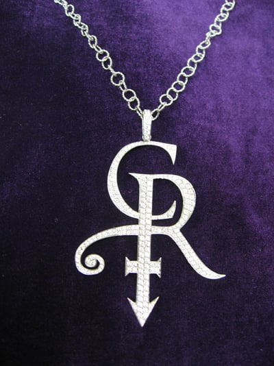 Music Icon Princes Chelsea Rodgers Iconic Necklace Was Designed By