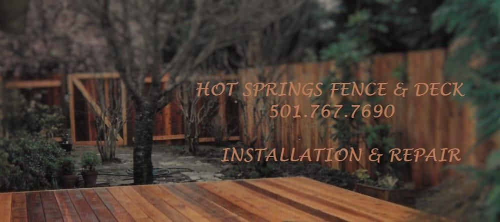 Hot Springs Fence & Deck: 302 Crystal Hill Rd, Hot Springs, AR