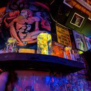 Poke at homosexual bar