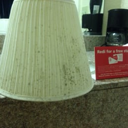 Photo Of Red Roof Inn Hardeeville   Hardeeville, SC, United States. Mold  Growing