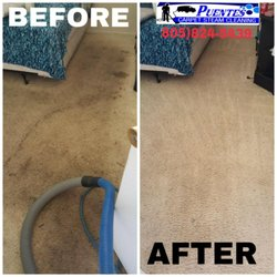 Photo of Puentes Carpet Cleaning - Oxnard, CA, United States. Carpet Cleaning ...