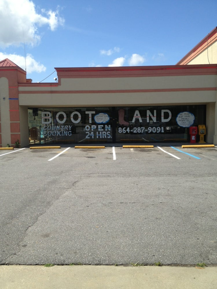 Boot Land Country Cooking: 272 Erring Rd, Fair Play, SC