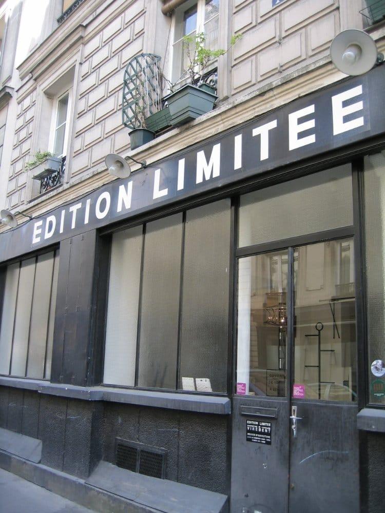 edition limit e magasin de meuble 7 rue br guet bastille paris france num ro de. Black Bedroom Furniture Sets. Home Design Ideas