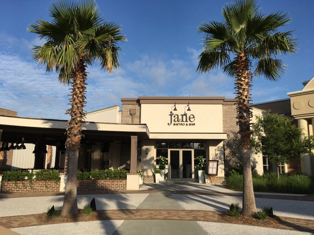 exterior of jane bistro and bar hhi