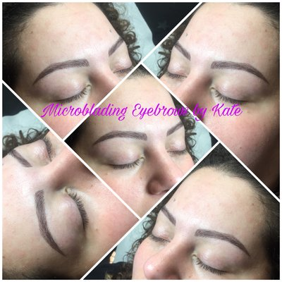 Kate Microblading Eyebrows Studio 232 Stuyvesant Ave