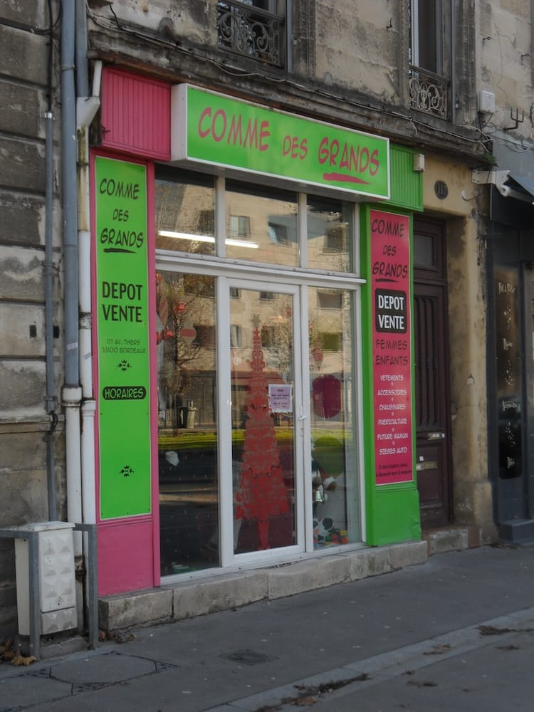 Comme des grands charity shops 117 avenue thiers - Cabinet radiologie avenue thiers bordeaux ...