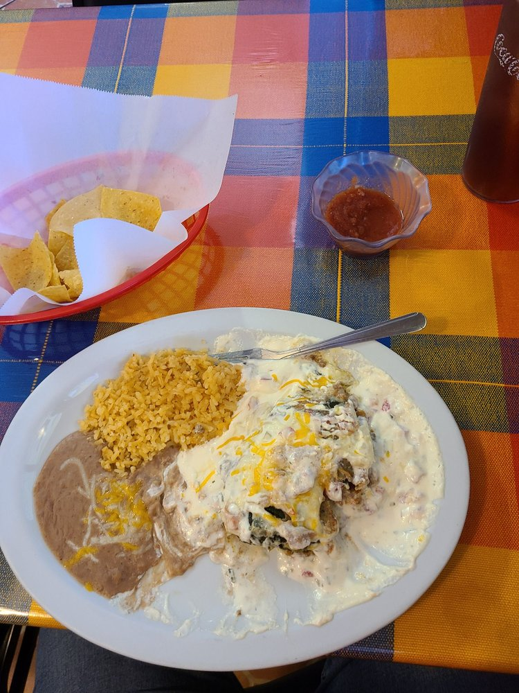 Food from Janitzio Mexican Restaurant