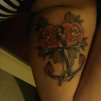 Photo Of One Sixteen Tattoo Manteca Ca United States Freshly Done Tat